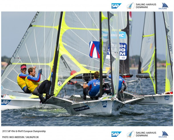 The 2013 SAP 49er & 49erFX European Championship