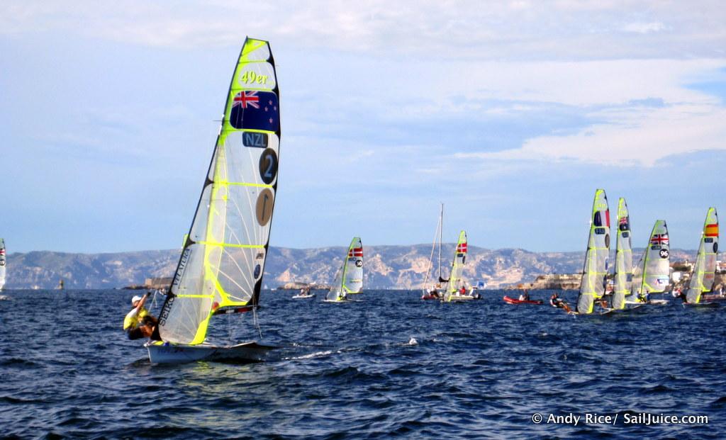 Photographs kiwi yachting - borzii