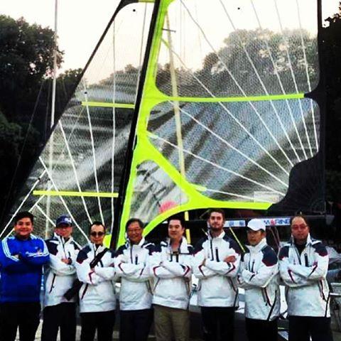 UpMarine Boat Building Team