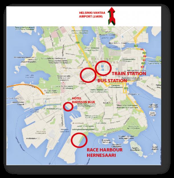 Helsinki citymap