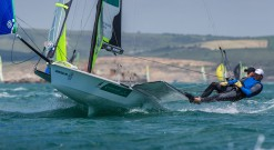 ISAF Sailing World Cup 49er Day 1