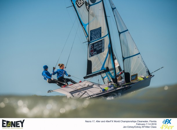 2016 Nacra 17, 49er and 49erFX World Championships in Clearwater, Florida - Racing Day 2