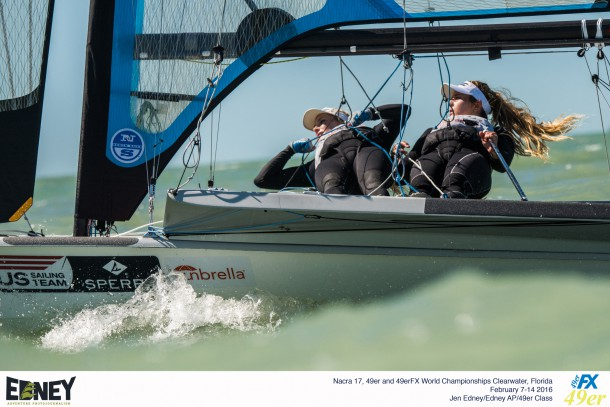 2016 Nacra 17, 49er and 49erFX World Championships in Clearwater, Florida - Racing Day 4