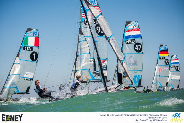 2016 Nacra 17, 49er and 49erFX World Championships in Clearwater, Florida - Racing Day 5