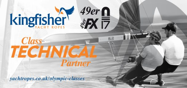kingfisher ropes partners with 49er and nacra