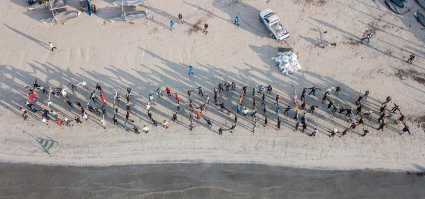 Image result for beach cleanup 49er""